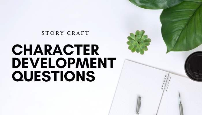 Character Development Questions Blog Banner
